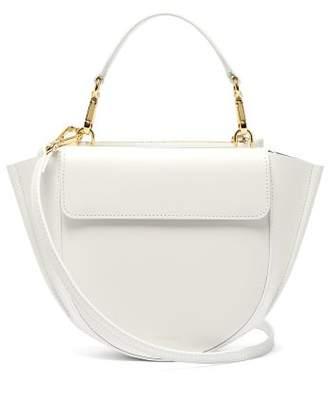 Wandler Hortensia Mini Leather Cross Body Bag - Womens - White