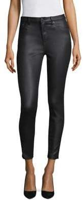 The Kooples Franky Leather Effect Pants