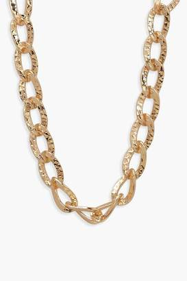 boohoo Vintage Look Chunky Chain Necklace