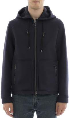 Lanvin Blue Wool Coat