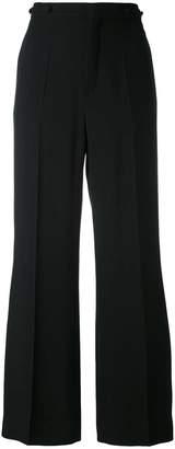 Chloé cropped wide leg trousers