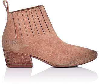 Marsèll Women's Gore-Detailed Suede Ankle Boots