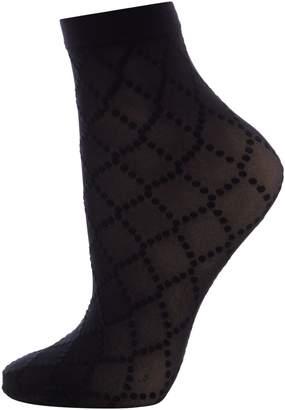 Wolford Dot Net Ankle Socks
