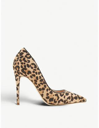 Steve Madden Daisie-L ponyhair leopard print courts