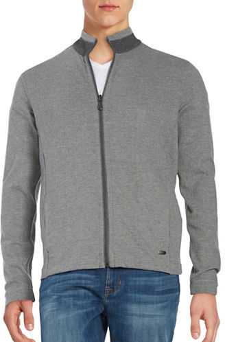 Hugo Boss Hugo Boss Reversible Zip-Front Cardigan