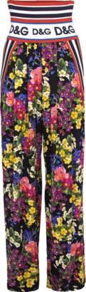 Dolce & Gabbana Floral Print Pant