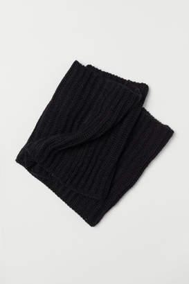 H&M Wool-blend Tube Scarf - Black