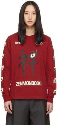 Undercover Red Zenmondooo Long Sleeve T-Shirt
