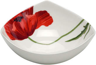 Asstd National Brand Red Vanilla Summer Sun Set of 6 Bone China Bowls