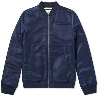 Norse Projects Ryan Sateen Bomber Jacket