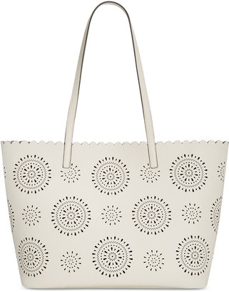 INC International Concepts Melly Starburst Tote, Only at Macy's $99.50 thestylecure.com