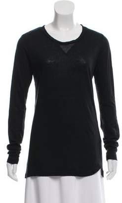 Etoile Isabel Marant Linen Long Sleeve T-Shirt
