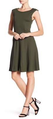 French Connection Botero Fit & Flare Dress