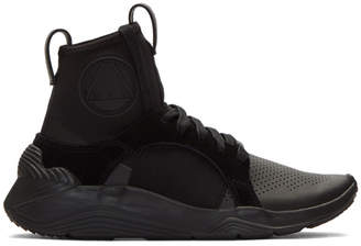 McQ Black Gishiki High-Top Sneakers