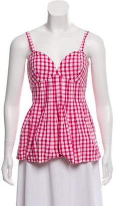 Burberry Gingham Top