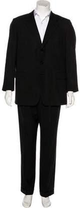 Hermes Super 110'S Wool Two-Piece Suit