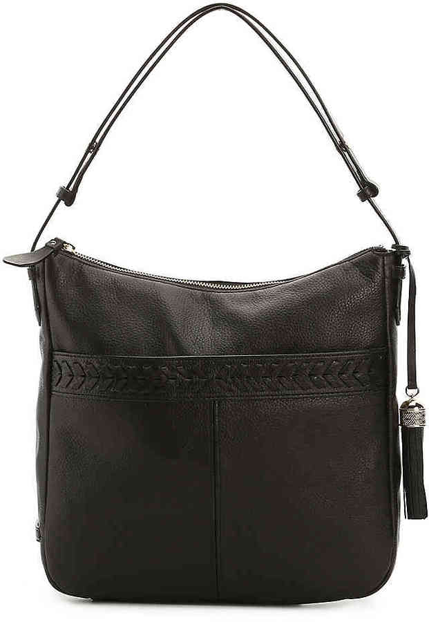 Cole Haan  Women's Lacey Leather Hobo Bag -Black