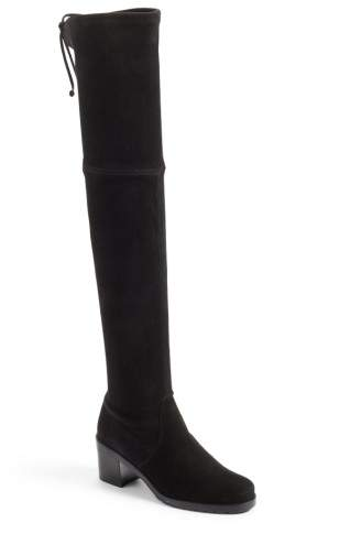 Stuart Weitzman Elevated Over the Knee Boot