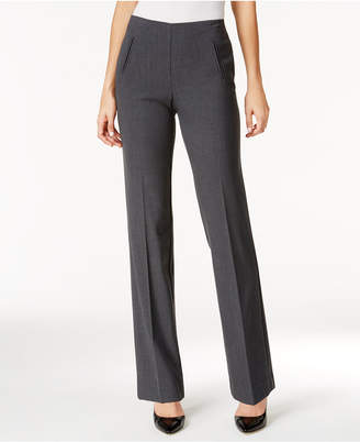 Style&Co. Style & Co Petite Pull-On Straight-Leg Pants, Created for Macy's