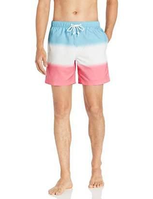 eba831ab2d Original Penguin Men's Stripe Elastic Waist Volley Swim Short