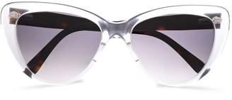 Prism Cat-eye Acetate Sunglasses