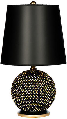 One Kings Lane Bradburn Home For Mini Ball Table Lamp - Black/Gold
