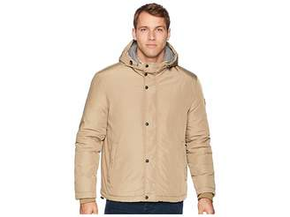 Cole Haan Oxford Rain Zip Front Jacket Men's Coat