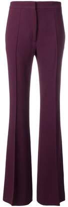 Rochas bootcut trousers