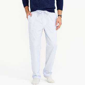 J.Crew Cotton pajama pant in stripe
