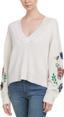 Wildfox Couture Living Wool & Alpaca-Blend Sweater