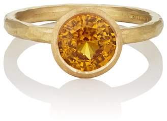 Malcolm Betts Women's Yellow Sapphire Ring