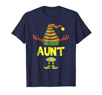 Aunt Matching Family Pajamas Elf Christmas Elves XMas Shirt