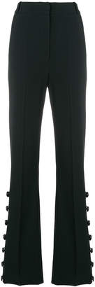 David Koma flared button trousers