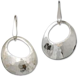 Le Vin Ed Levin Jewelry Hammered Olive Earrings
