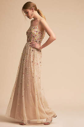 Anthropologie Syrah Wedding Guest Dress
