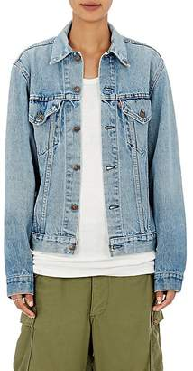 Icons Women's Denim Jacket $350 thestylecure.com