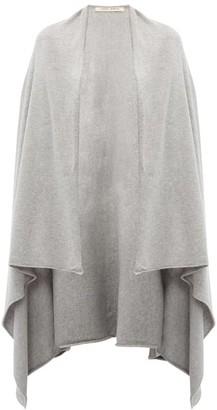 Extreme Cashmere - Cashmere Blend Cape - Womens - Grey