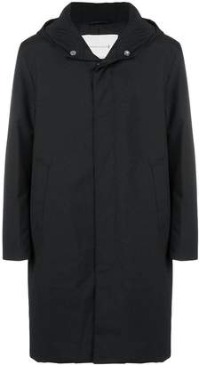MACKINTOSH hooded mid-length coat