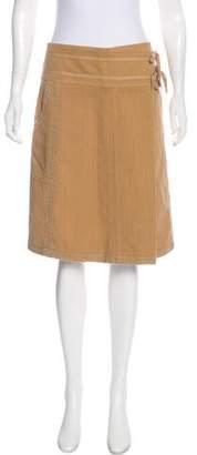 Dries Van Noten Knee-Length A-Line Skirt