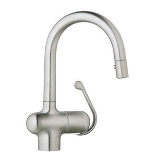 Grohe Ladylux Pull Out Bar Faucet with SilkMove