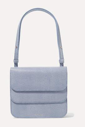 REJINA PYO Ana Lizard-effect Leather Shoulder Bag - Lavender