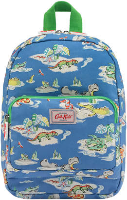 Cath Kidston Hippos And Friends Kids Medium Padded Backpack