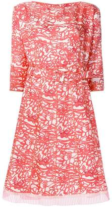 Marc Jacobs printed flared dress
