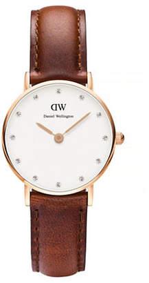 Daniel Wellington Classy St. Mawes 26mm Leather Watch