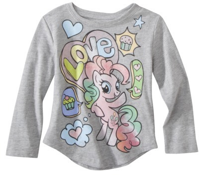 My Little Pony My Little PonyTM Infant Toddler Girls' Long-sleeve Tee - Grey Heather
