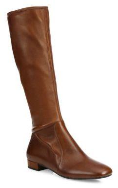 pradaPrada Tall Stretch-Leather Boots