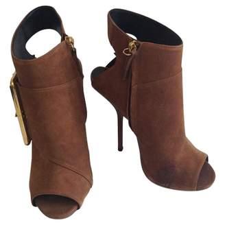 Giuseppe Zanotti Open toe boots