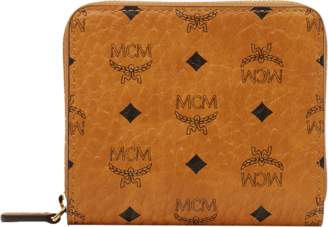 MCM Zip Wallet In Visetos Original