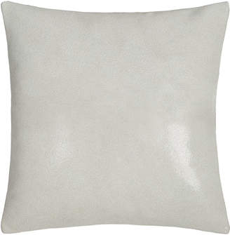 "Donna Karan Home Clear Lacquer Print Leather Pillow, 16""Sq."