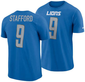 Nike Men Matthew Stafford Detroit Lions Player Pride Name and Number T-Shirt